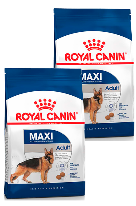 Royal Canin - PACK 2X Maxi Adulto 15Kg.