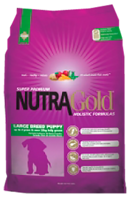Nutragold - Holistic Puppy Large Breed 15Kg.