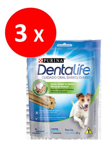 Dentalife - PACK 3 unidades Perro Pequeño 42Gr.