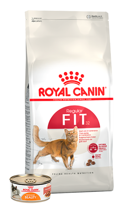 Royal Canin - PACK Fit 1,5Kg + 1 Lata 165g.