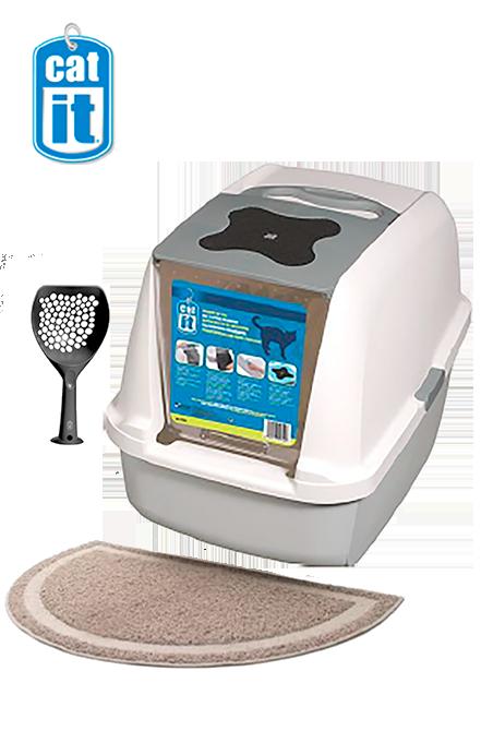 Catit - PACK Baño Gris + accesorios