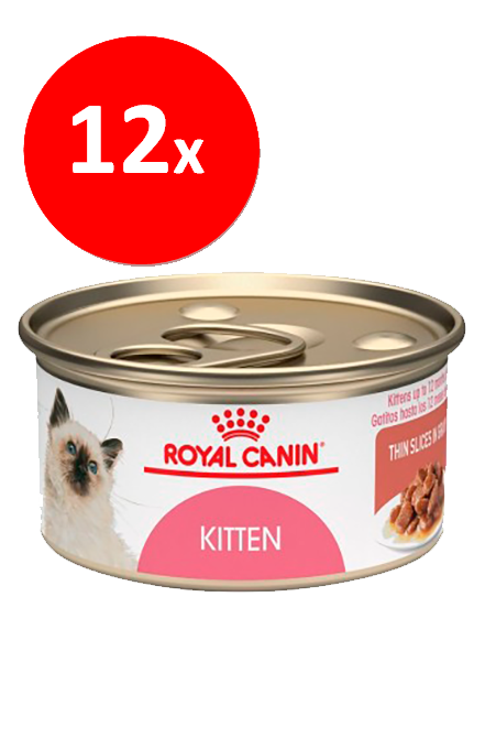 Royal Canin - PACK 12 unidades Kitten Lata 165Gr.