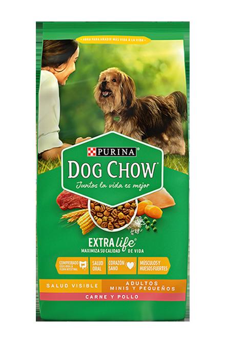 Dog chow - Adulto Minis y Pequeños - Carne y Pollo 18Kg