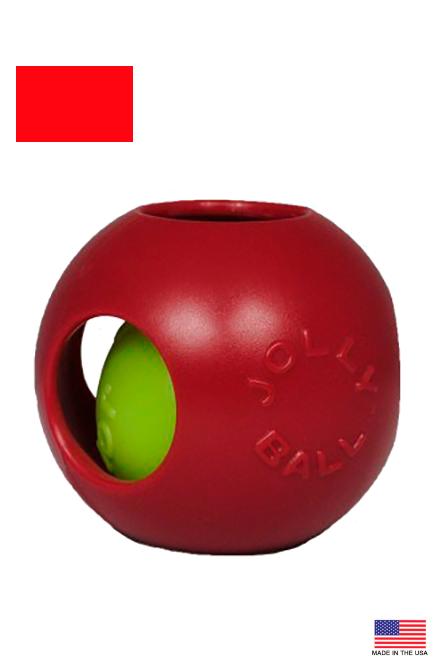 "Jolly Pets - Teaser Ball Pelota interna colores 6"""