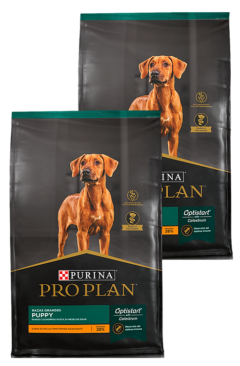 Pro Plan - PACK 2X Puppy Large Breed 15Kg.