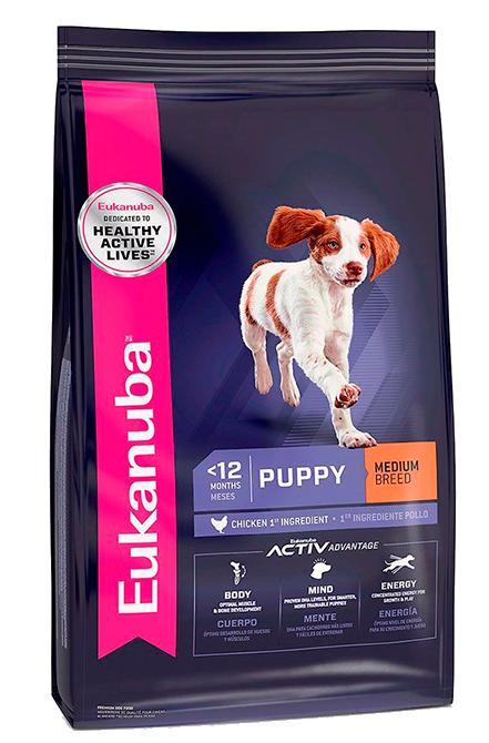 Eukanuba - Puppy Medium 15Kg.