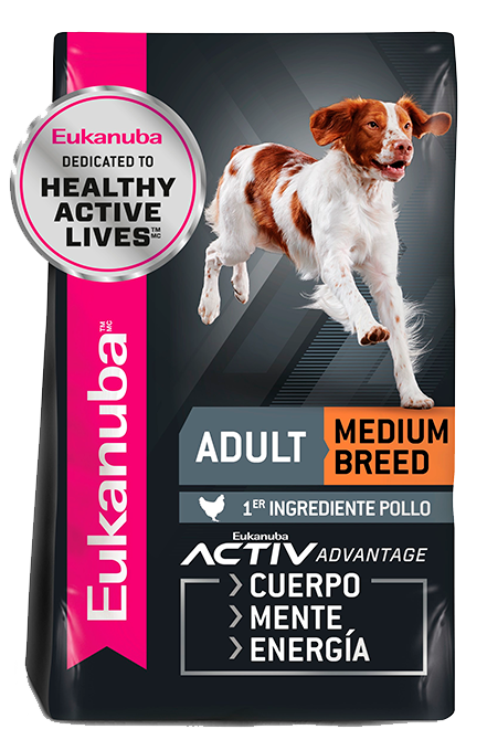 Eukanuba - Adulto Medium 13,6Kg.