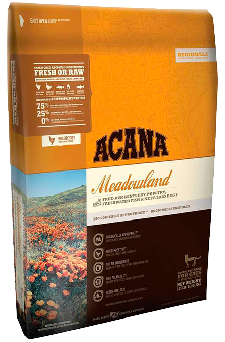 Acana - Meadowlands Cat 4,5Kg.