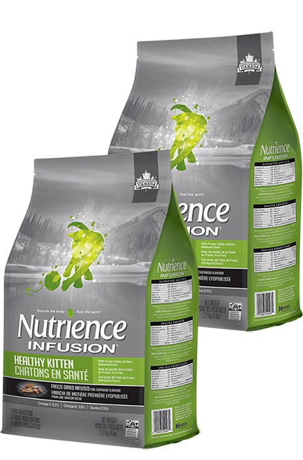 Nutrience - PACK 2X Infusion Kitten 2,27Kg.