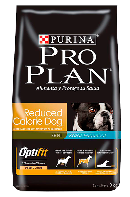 Pro plan - Reduce calorias Raza Pequeña 3Kg.