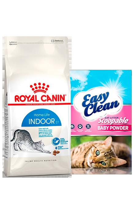 Royal Canin - PACK Indoor 7,5Kg + Arena 15Kg.