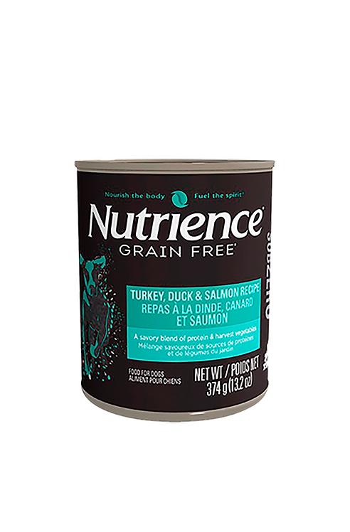 Nutrience - Subzero Canino Lata Pavo 374g.