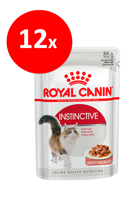 Royal Canin - PACK 12 unidades Adult Instinctive Sachet 85Gr.