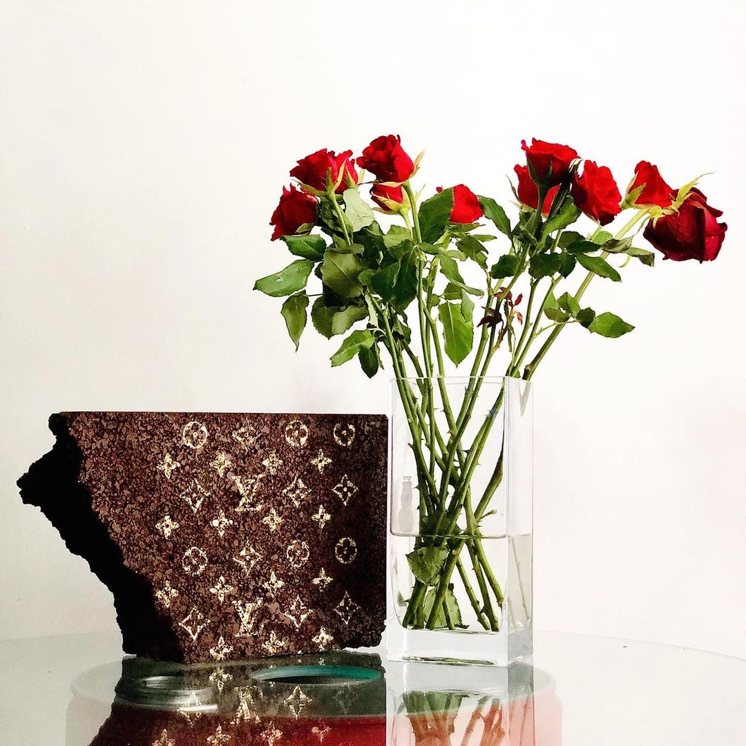 Louis Vuitton brick block