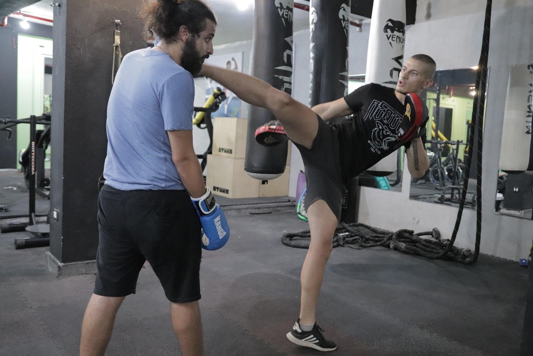 Kick Boxing Session