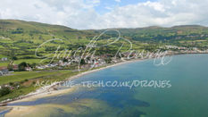 The River flowing into Carnlough Bay