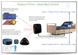 Possum Primo Alexa Bed Control
