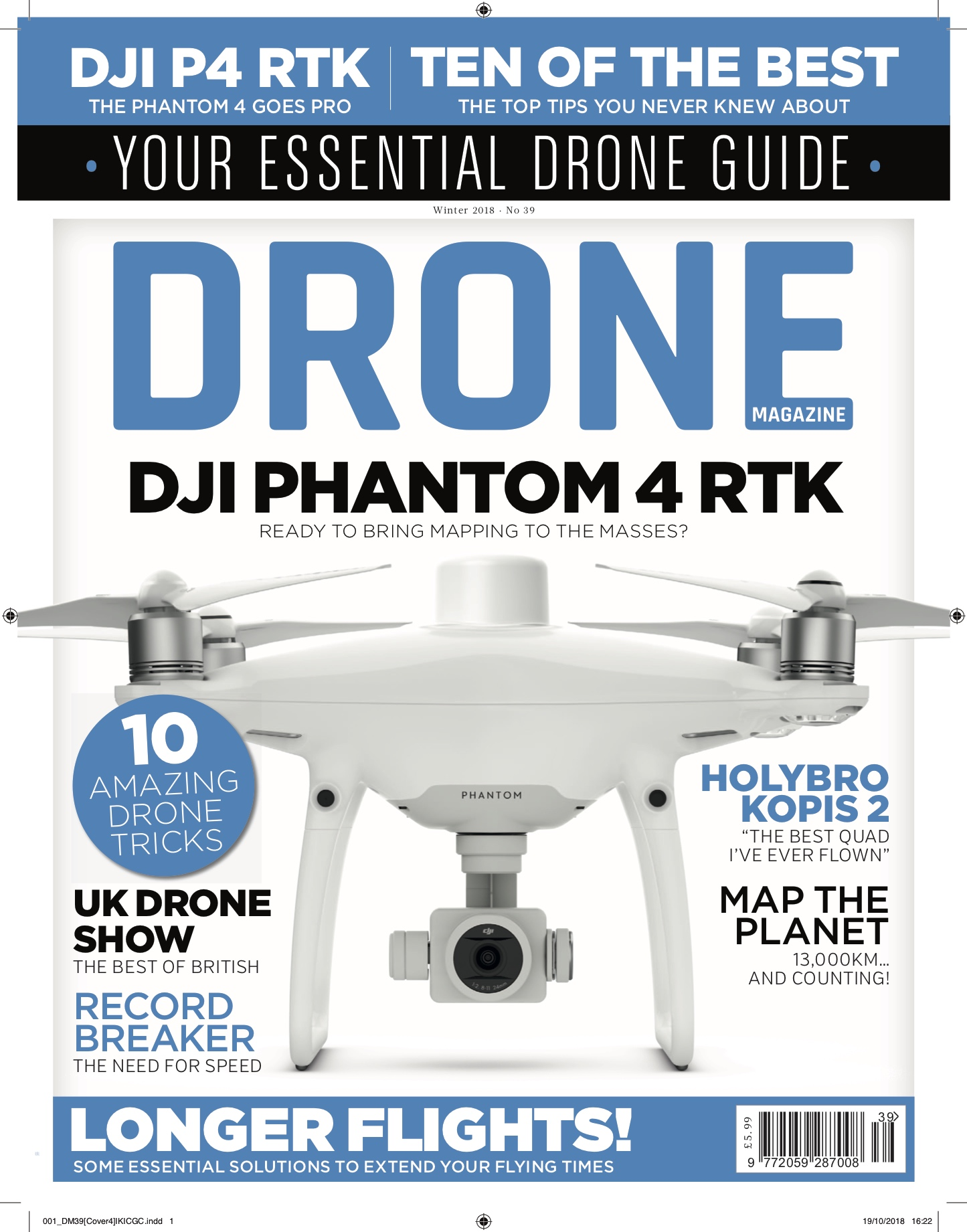Drone Magazine Cover