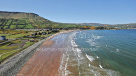 2 Glenariffe Beach and Lurig Mountain