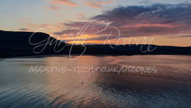 1.3 Sunset behind Lurig