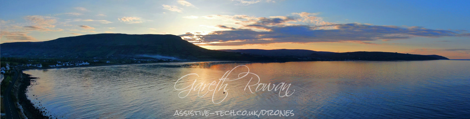 4 The Sunset behind Lurig