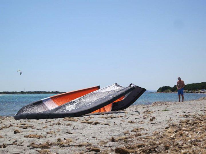 Kitesurfing in Corsica