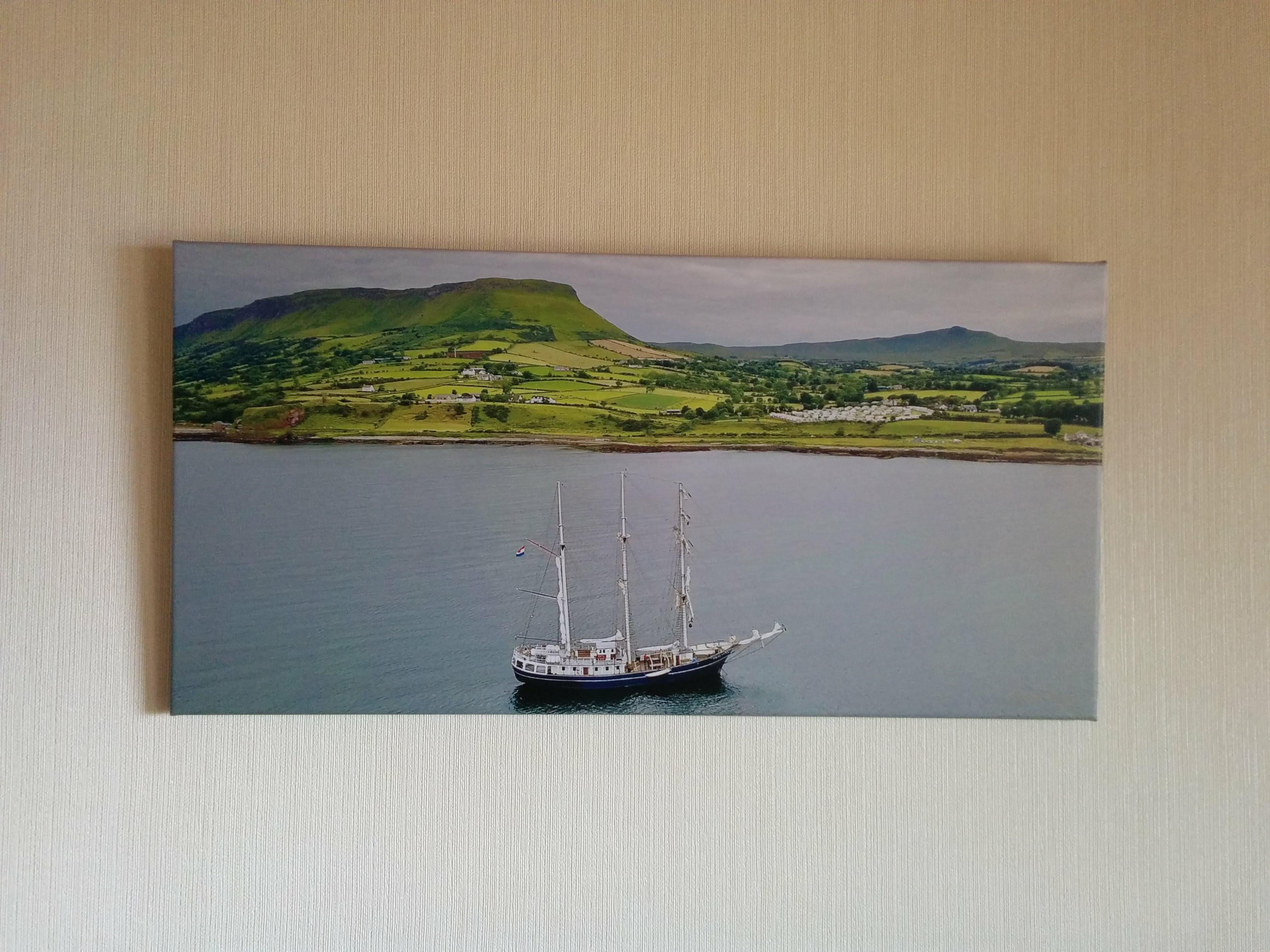 Tallship at anchor