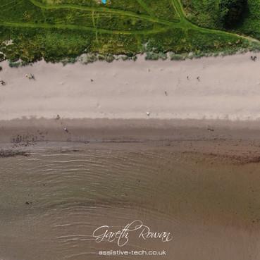 Glenariffe Beach from Above