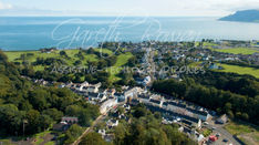 Cdall 9 Cushendall Village and the Sea
