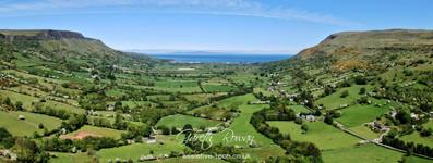 Glenariffe Glen panoramic