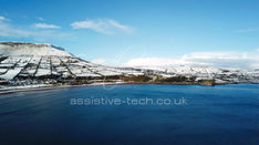 1.1 Lurig Mountain and Redbay Pier in the Snow
