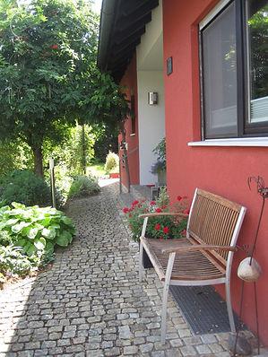 Eingangsbereich Ferienwohnung Peterwitz