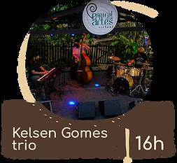 palco espiral - botoes - kelsen trio 16h