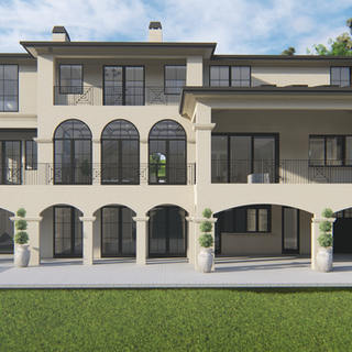 CONTEMPORARY FRENCH CHATEAU