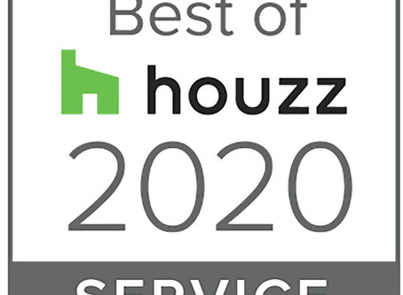 MCD Earns Best Of HOUZZ (Service) 2020 Award!