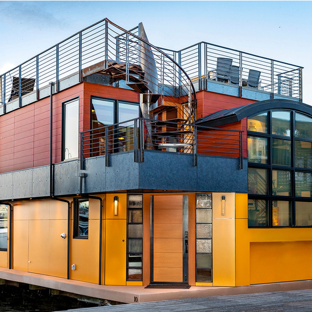 INDUSTRIAL FLOATING HOME