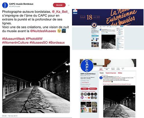 CAPC Bordeaux - Ka Bell - nuit des Musées 2019