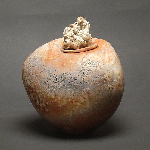 Lidded Vessel, #303