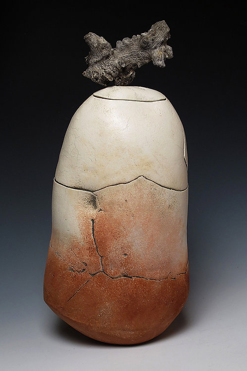 Lidded Vessel, #302 - SOLD