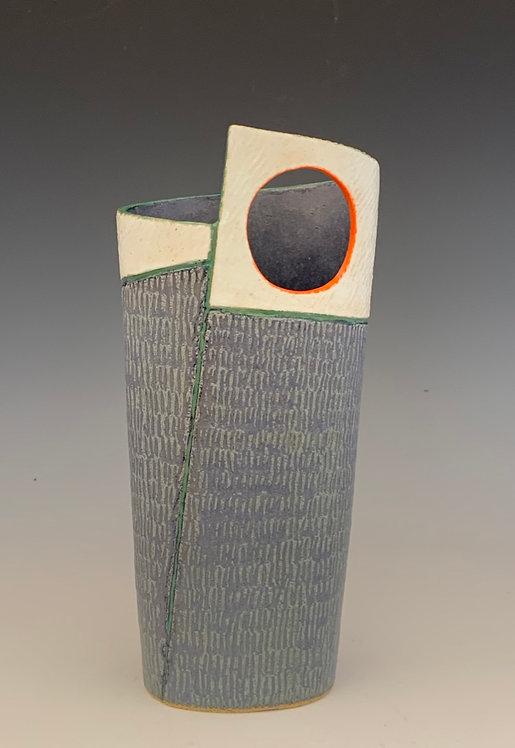 Blue Dot Vase
