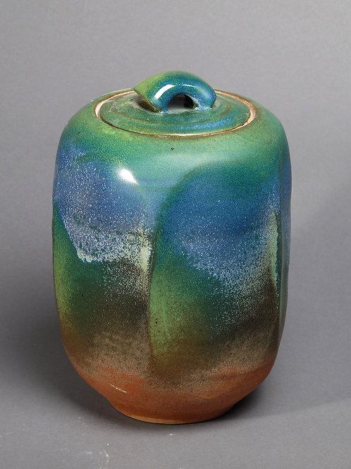 Covered Jar #12 - SOLD