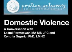Domestic Violence Webinar Summary