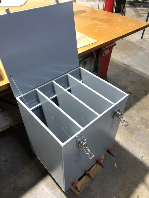 welded PVC portable X-ray developing tank