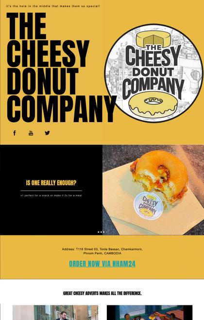 Cheesy Donuts Company