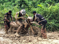 Cambodia MotorBike Tours - It Can Get Muddy