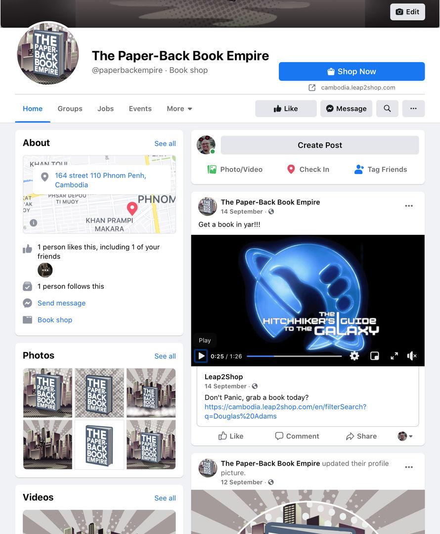 PaperBack Book Empire