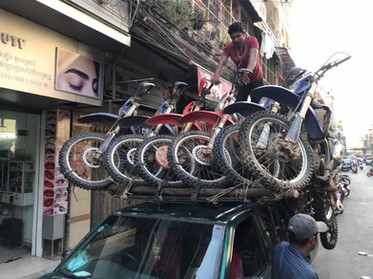 Cambodia MotorBike Tours - Time To Pack Up the Bikes