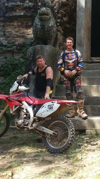 Cambodia MotorBike Tours - There's Always a Little Chill'n Time