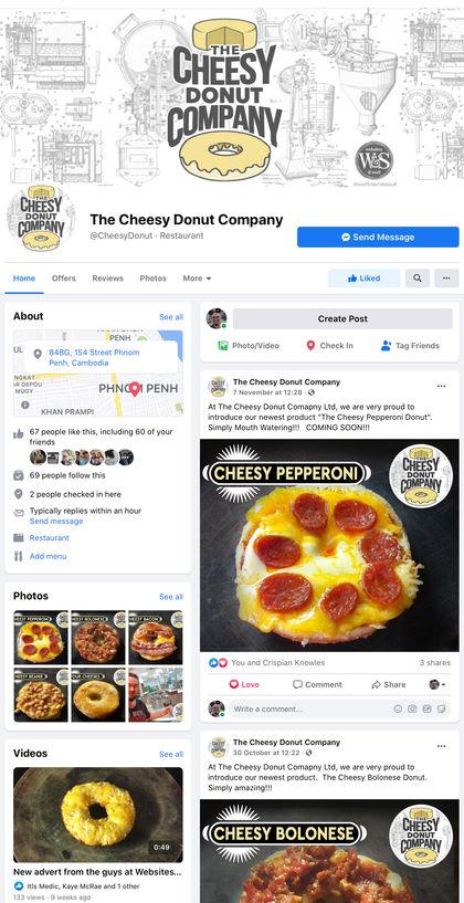 Cheesy Donut Company