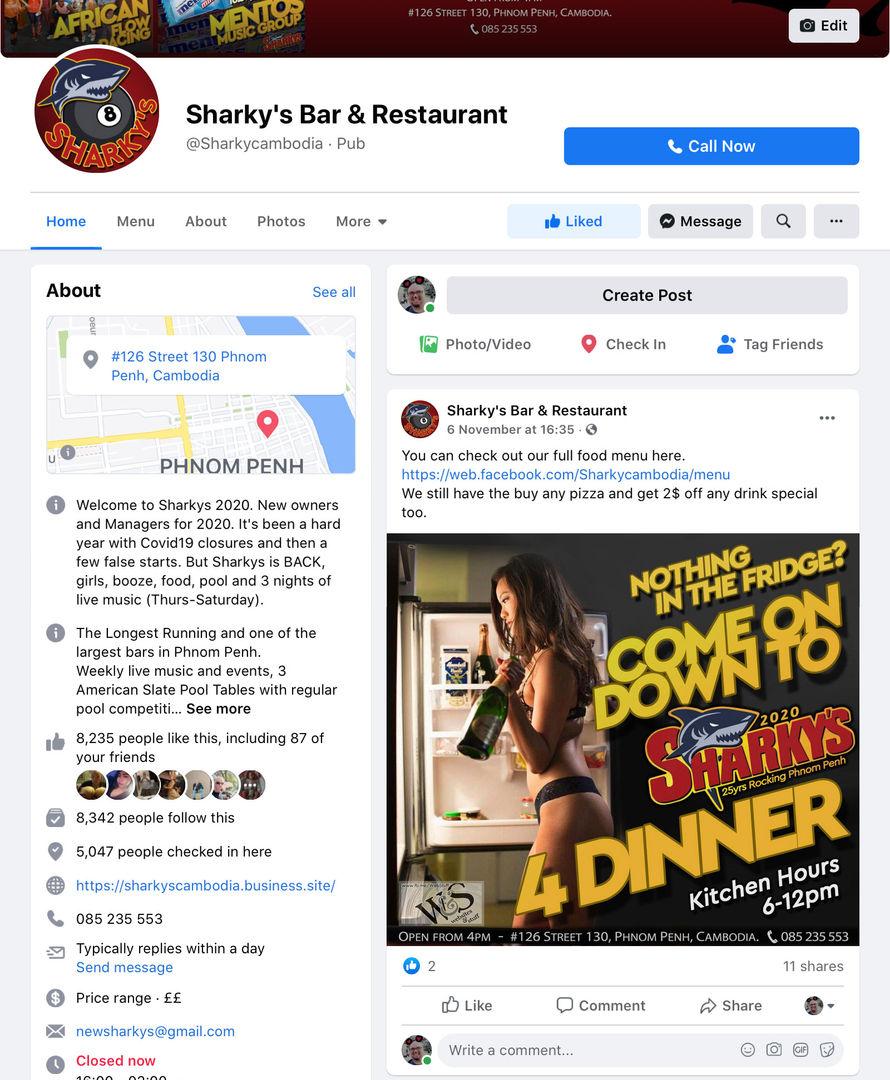 Sharkys Bar